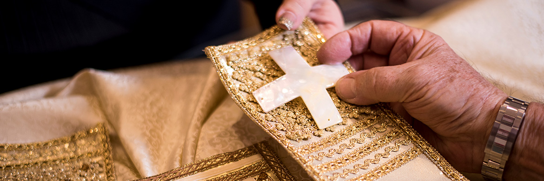 Personalizzazione di paramenti liturgici